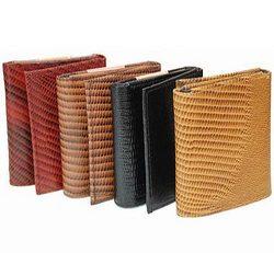 Fashion Snake Print Tri-Fold Wallet