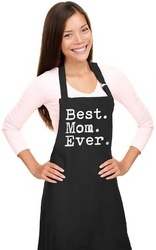 Chef Apron Best Mom Ever One Size