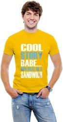 Cool Story Babe Mens T-shirt