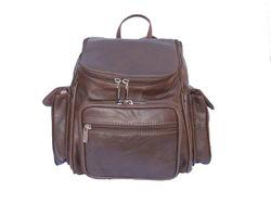 Soft Leather Backpack Travel Bag
