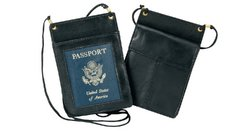 Passport, Id and Boarding Pass Holder