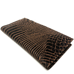 Category: Dropship Gifts, SKU #CR-811, Title: Croco checkbook Handcrafted Wallet