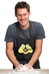 Diamond Cartoon Hands Apron