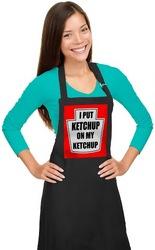 Ketchup on my Ketchup Apron