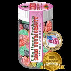 Elite Hemp Gummies Hemp Infused Gummy Fruits x200 Strength (Classic)