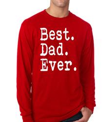 Best Dad Ever Long Sleeve Men T-Shirt