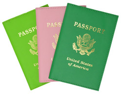 Passport Holder Travel with Logo