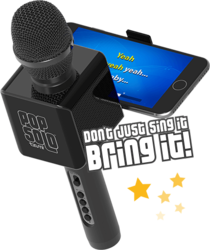 Wireless Bluetooth PopSolo Karaoke Microphone