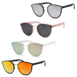 Metal Bridge Sunglasses (4 Pack)
