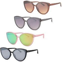 Modern Cat Eye Sunglasses (4 Pack)