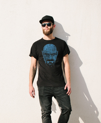 Breaking Bad Walter Hartwell  Face T-shirt-Assorted Color Size S-XXXL
