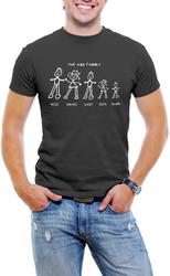 The Ass Family Men T-Shirt Soft Cotton Short Sleeve Tee