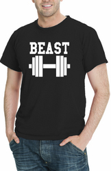 Beast Men Funny T-Shirt Assorted Colors Sizes S-5XL