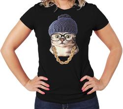 Cute Women T-Shirt, 100% cotton Body Fit