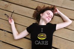 I Donut Care Women T-shirt