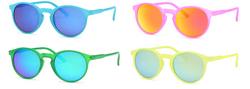 4-Pack - AFONiE Girls Retro Sunglasses