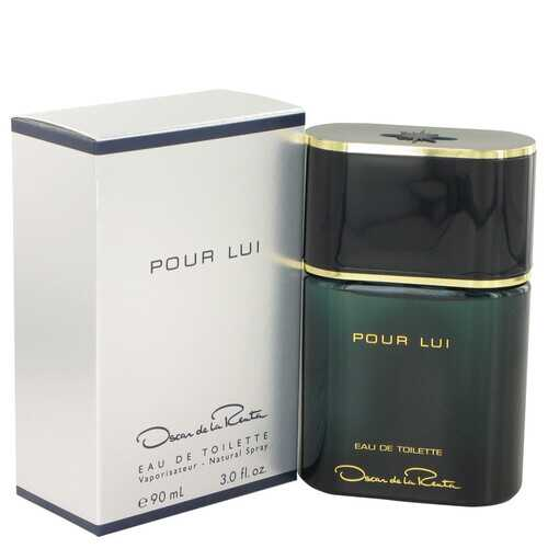 Oscar Pour Lui by Oscar de la Renta Eau De Toilette Spray 3 oz (Men)