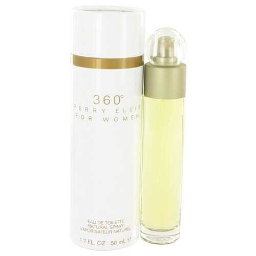perry ellis 360 by Perry Ellis Eau De Toilette Spray 1.7 oz (Women)