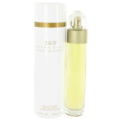 perry ellis 360 by Perry Ellis Eau De Toilette Spray 3.4 oz (Women)