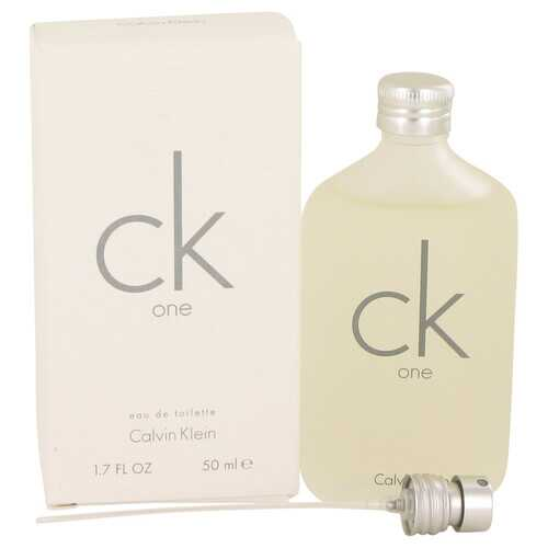 CK ONE by Calvin Klein Eau De Toilette Pour/Spray (Unisex) 1.7 oz (Women)