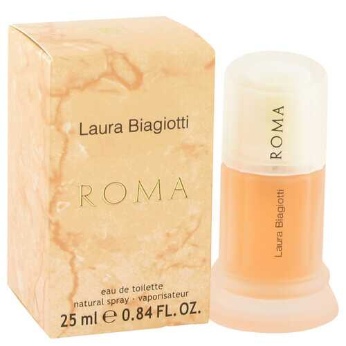 ROMA by Laura Biagiotti Eau De Toilette Spray .85 oz (Women)