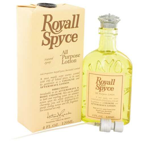 ROYALL SPYCE by Royall Fragrances All Purpose Lotion / Cologne 4 oz (Men)