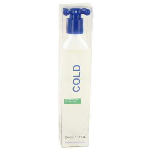 COLD by Benetton Eau De Toilette Spray (Unisex) 3.4 oz (Men)