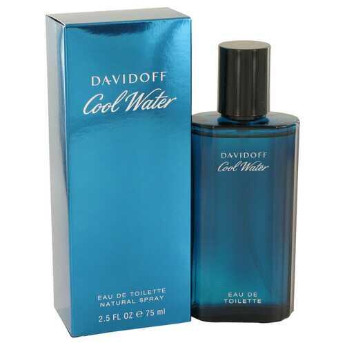 COOL WATER by Davidoff Eau De Toilette Spray 2.5 oz (Men)