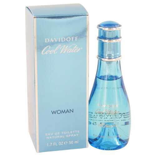 COOL WATER by Davidoff Eau De Toilette Spray 1.7 oz (Women)