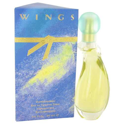 WINGS by Giorgio Beverly Hills Eau De Toilette Spray 3 oz (Women)