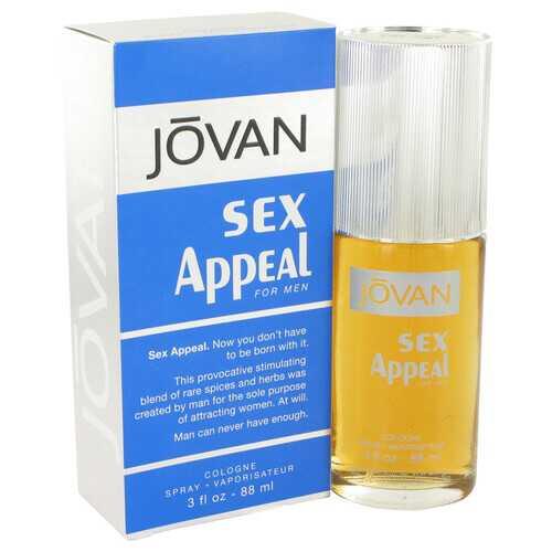 Sex Appeal by Jovan Cologne Spray 3 oz (Men)