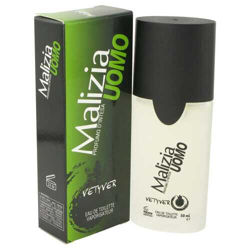 Malizia Uomo by Vetyver Eau De Toilette Spray 1.7 oz (Men)