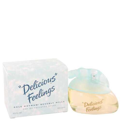 DELICIOUS FEELINGS by Gale Hayman Eau De Toilette Spray (New Packaging) 3.4 oz (Women)