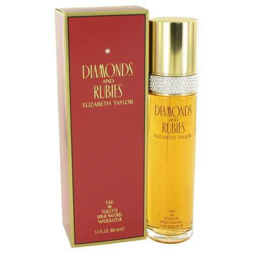 DIAMONDS & RUBIES by Elizabeth Taylor Eau De Toilette Spray 3.4 oz (Women)