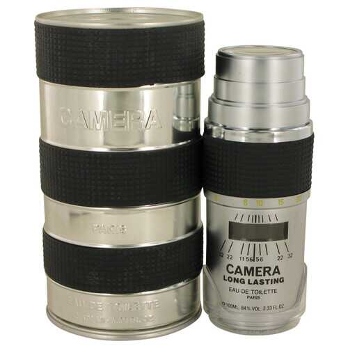 CAMERA LONG LASTING by Max Deville Eau De Toilette Spray (Metal Packaging) 3.4 oz (Men)