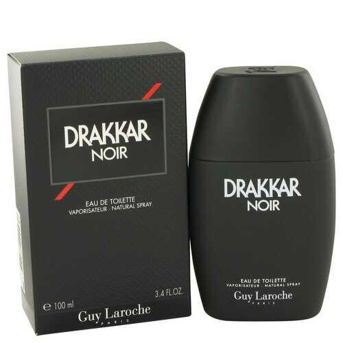 DRAKKAR NOIR by Guy Laroche Eau De Toilette Spray 3.4 oz (Men)