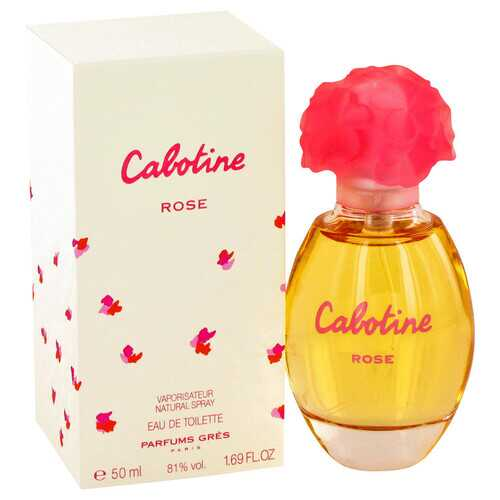Cabotine Rose by Parfums Gres Eau De Toilette Spray 1.7 oz (Women)