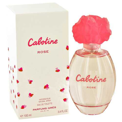 Cabotine Rose by Parfums Gres Eau De Toilette Spray 3.4 oz (Women)