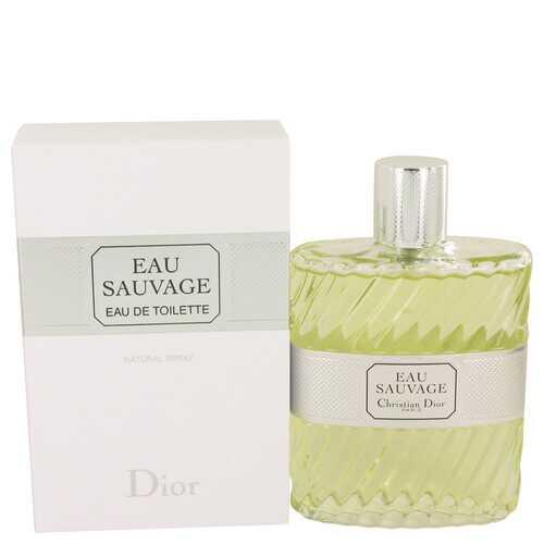 EAU SAUVAGE by Christian Dior Eau De Toilette Spray 6.8 oz (Men)