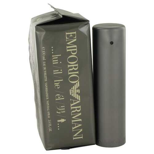 EMPORIO ARMANI by Giorgio Armani Eau De Toilette Spray 3.4 oz (Men)