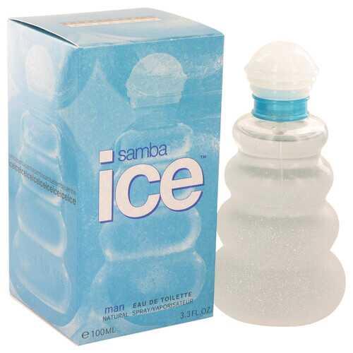 Samba Ice by Perfumers Workshop Eau De Toilette Spray 3.4 oz (Men)