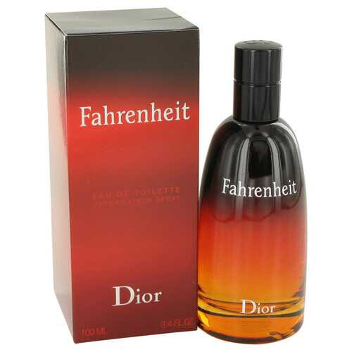 FAHRENHEIT by Christian Dior Eau De Toilette Spray 3.4 oz (Men)