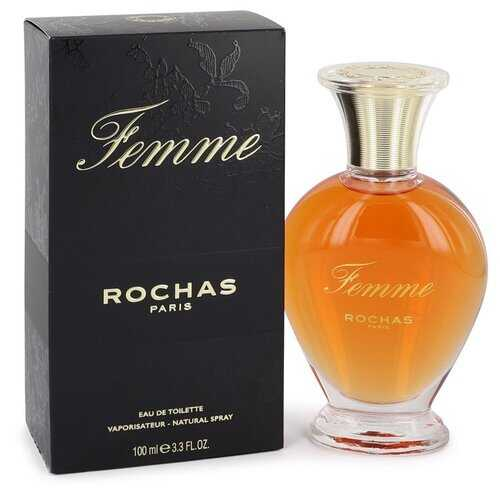 FEMME ROCHAS by Rochas Eau De Toilette Spray 3.4 oz (Women)