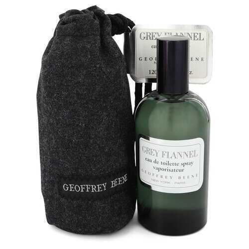 GREY FLANNEL by Geoffrey Beene Eau De Toilette Spray 4 oz (Men)
