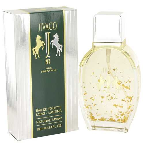 JIVAGO 24K by Ilana Jivago Eau De Toilette Spray 3.4 oz (Men)