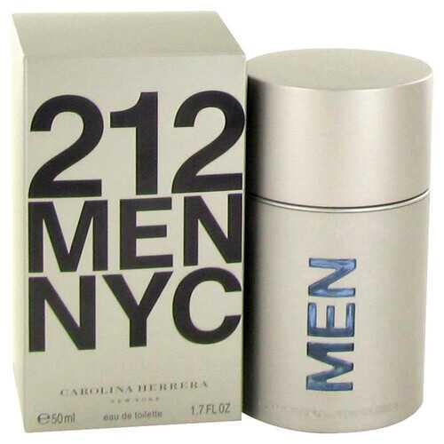 212 by Carolina Herrera Eau De Toilette Spray (New Packaging) 1.7 oz (Men)