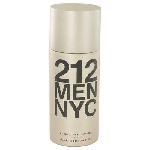 212 by Carolina Herrera Deodorant Spray 5 oz (Men)