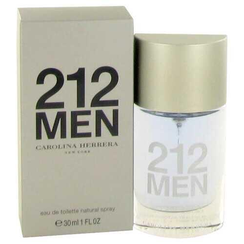 212 by Carolina Herrera Eau De Toilette Spray (New Packaging) 1 oz (Men)