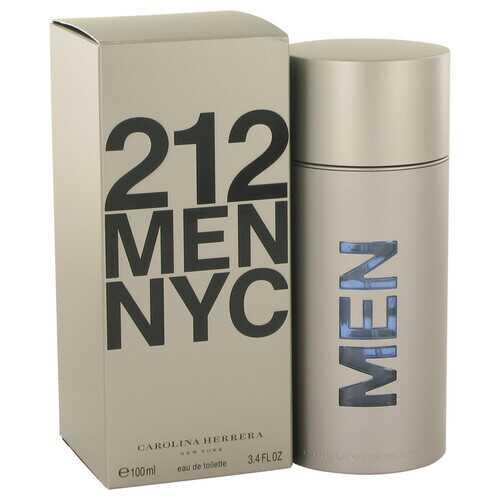 212 by Carolina Herrera Eau De Toilette Spray (New Packaging) 3.4 oz (Men)