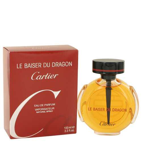 Le Baiser Du Dragon by Cartier Eau De Parfum Spray 3.3 oz (Women)